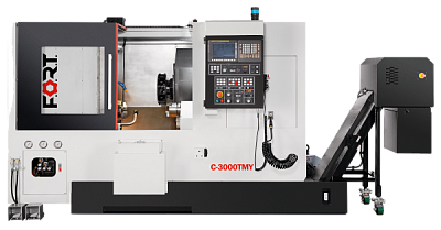 C-3000TSM with milling function and subspindle