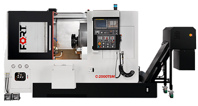 C-2000TSM with milling function and subspindle