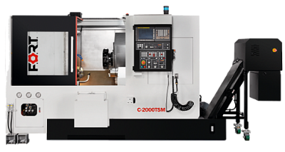 C-2000TS with subspindle